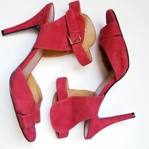 Nine west Adalina red pumps new without tags / box